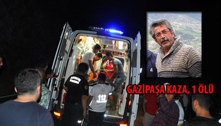35 metre uçuruma yuvarlanan kamyonet sürücüsü Orhan Kaptanoğlu öldü.