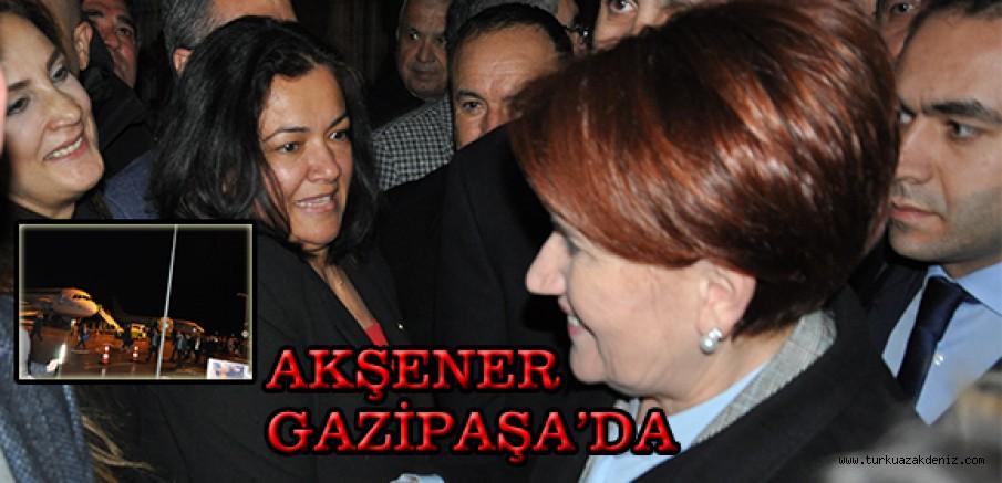 AKŞENER GAZİPAŞA'DA