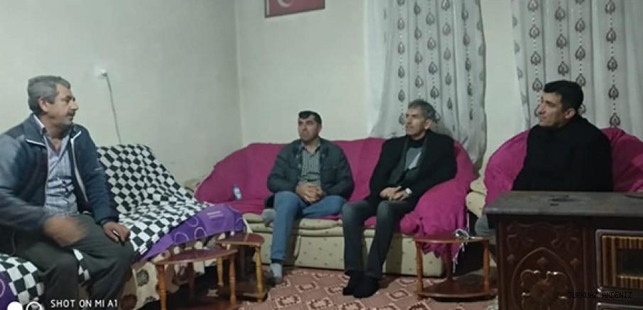 """Başkan Çelik'ten Selvinaz'ın ailesine """"Geçmiş olsun"""" ziyareti"""