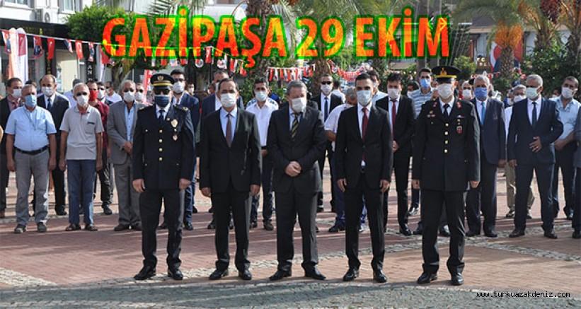 GAZİPAŞA 29 EKİM KUTLAMASI