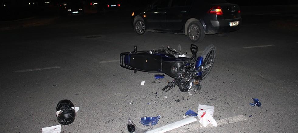 Gazipaşa kaza,1 yaralı