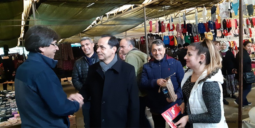 Mehmet Ali Yılmaz seçim çalışmalarını sürdürüyor.
